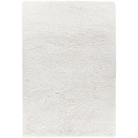 5 x 8 Medium White Shag Rug - Osim