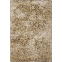 8 x 11 Large Contemporary Beige Shag Rug - Naya