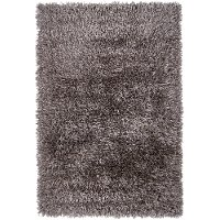 5 x 8 Medium Contemporary Gray Area Rug - Tirish