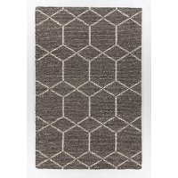 8 x 11 Large Contemporary Gray Area Rug - Slone