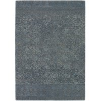 8 x 11 Large Blue-Gray Contemporary Area Rug - Berlow