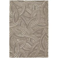 5 x 8 Medium Contemporary Taupe and Beige Area Rug - Penelope