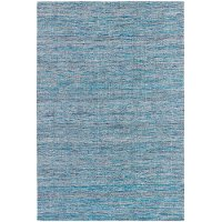 5 x 8 Medium Dhurrie Blue Rug - Shenaz
