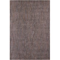 8 x 11 Large Contemporary Brown and Gray Area Rug - Penelope