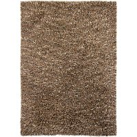 5 x 8 Medium Contemporary Tan Area Rug - Estilo