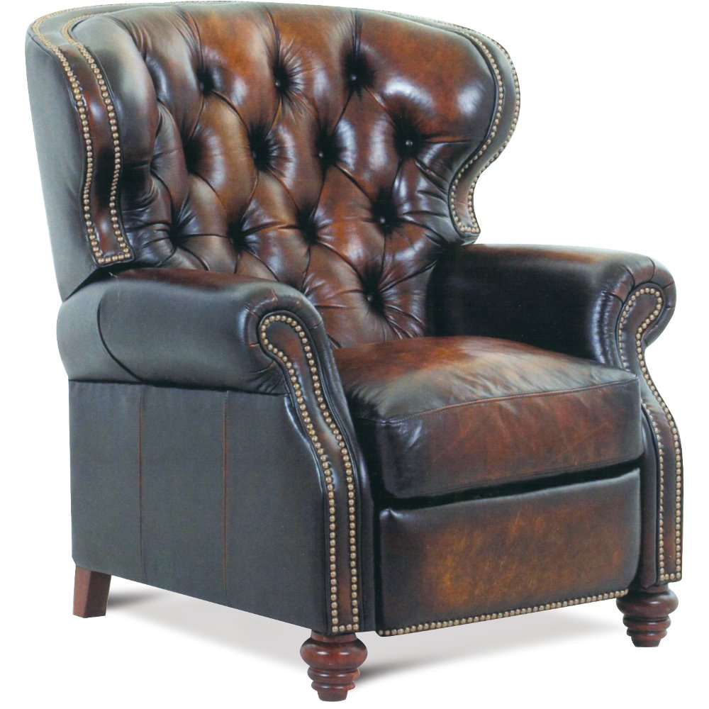 Brown Leather High-Leg Recliner - James River | RC Willey Furniture Store  sc 1 st  RC Willey & Brown Leather High-Leg Recliner - James River | RC Willey ... islam-shia.org