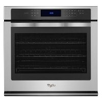 WOS97ES0ES Whirlpool 30 Inch 5.0 Cu. Ft. Single Wall Oven - Stainless Steel