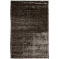 5 x 8 Medium Contemporary Art Silk Gray Area Rug - Libra