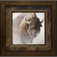 Chief Buffalo Framed Wall Art