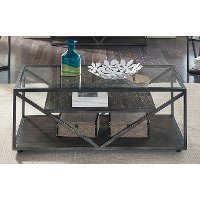 Modern Glass Coffee Table - Arista