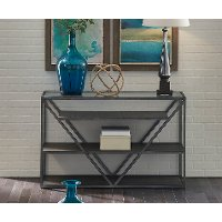 Modern Glass Sofa Table - Arista