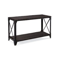 Rustic Charcoal Sofa Table - Milford Collection