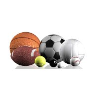 1171319 LightHeaded Bed Various Sports Balls Image