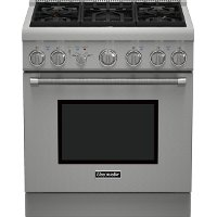 PRG305PH Thermador 30 Inch Gas Range - Stainless Steel