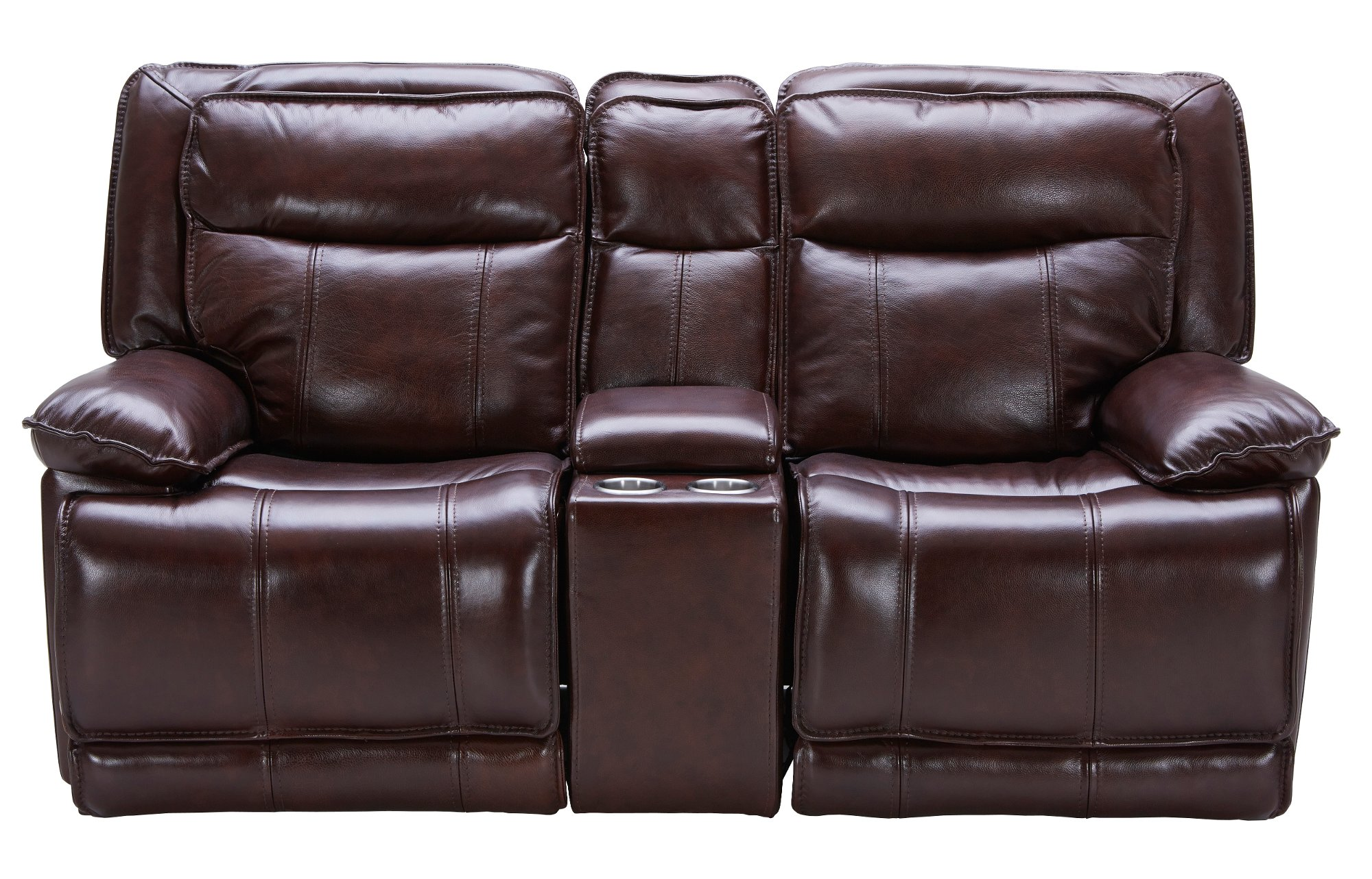 Bordeaux Burgundy Leather-Match Power Glider Reclining Loveseat - K-Motion  sc 1 st  RC Willey & Bordeaux Burgundy Leather-Match Power Reclining Sofa u0026 Loveseat ... islam-shia.org
