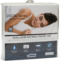 10YR-200DL-QUEEN Magic Invisible Queen Mattress Pad and 10-Year Limited Protection Plan - 200 DL Series