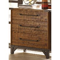 Ink+Ivy Lancaster Vintage Industrial 3-Drawer Dresser