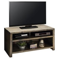 61 Inch Barnwood Finish Rustic TV Stand - Joshua Creek
