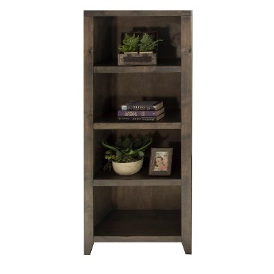 Knotty Alder Bookcase   Joshua Creek