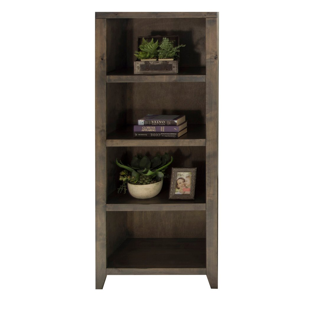 ... Knotty Alder Bookcase   Joshua Creek