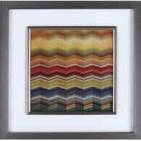 Multi-Color 3D Colours II Framed Wall Art