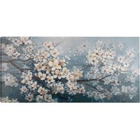 Blooming Tree Canvas Wall Art