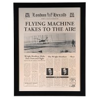 'Flying Machine' Framed Wall Art