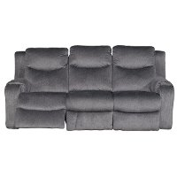 Dusk Gray Power Reclining Sofa - Marvel