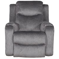 Dusk Gray Power Rocker Recliner - Marvel