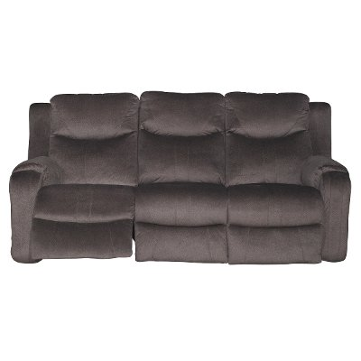 Coffee Brown Power Reclining Sofa - Marvel