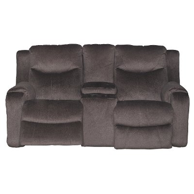 Coffee Brown Power Reclining Loveseat - Marvel