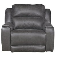 Slate Gray Power Recliner - Dazzle