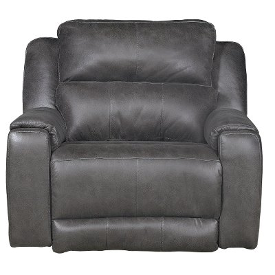 ... Slate Gray Power Recliner - Dazzle ...  sc 1 st  RC Willey & Buy a comfortable new power recliner from RC Willey Searching ... islam-shia.org