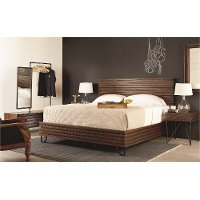 Magnolia Home Furniture Boho Brown 6 Piece Queen Bedroom Set Rc Willey Furniture Store