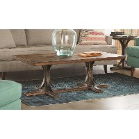 Magnolia Home Furniture Traditional Shop Floor Coffee Table
