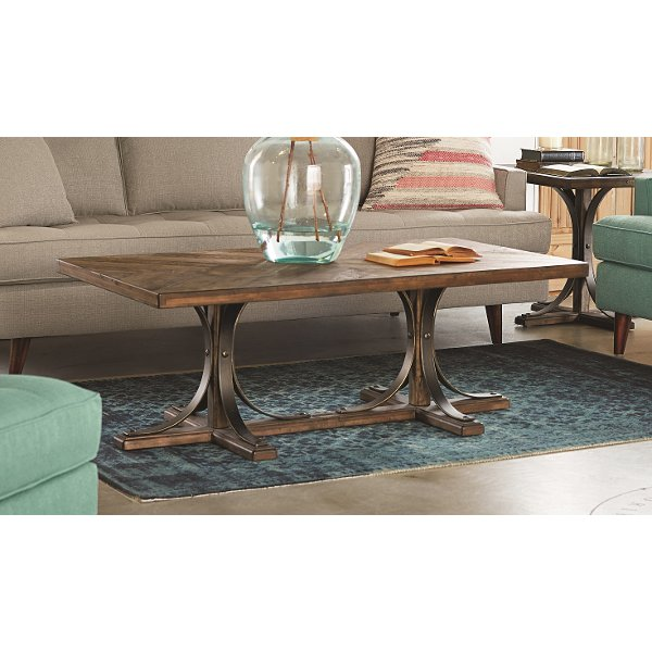 Magnolia Home Furniture Traditional Floor Coffee Table