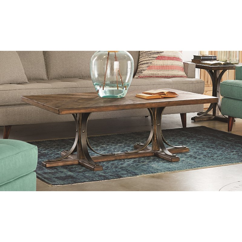Magnolia Home Furniture Traditional Shop Floor Coffee Table View jsp