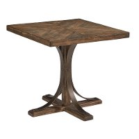 Magnolia Home Furniture Traditional Shop Floor End Table