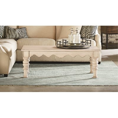 Magnolia Home Furniture Farmhouse Antique White Coffee Table