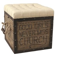 Eric Church Good Girls Ottoman