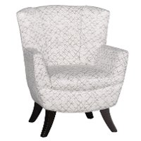 Zinc White Club Chair - Bethany
