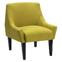 Green Modern Accent Chair - Rio