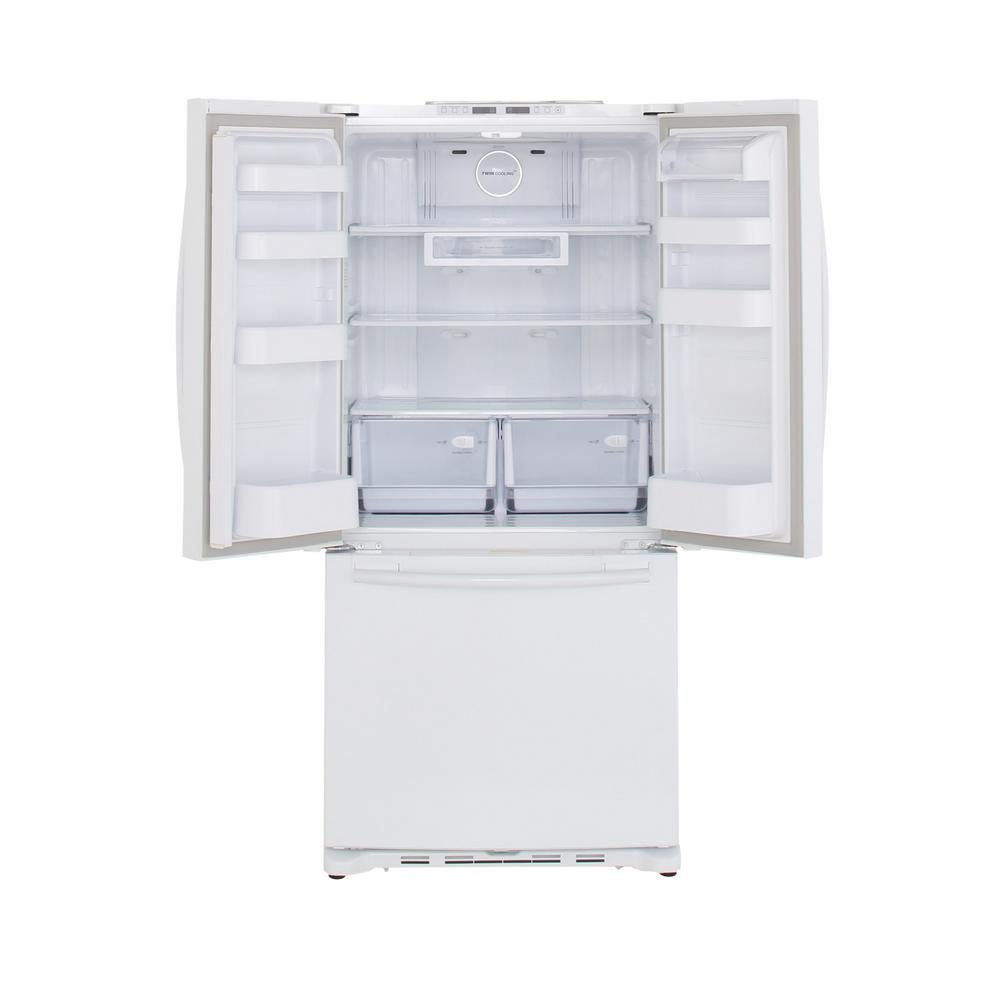 Samsung 33 Inch French Door Refrigerator Counter Depth   White | RC Willey  Furniture Store