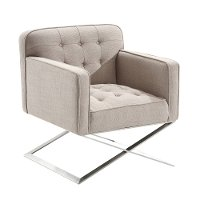 Gray Accent Chair - Chilton