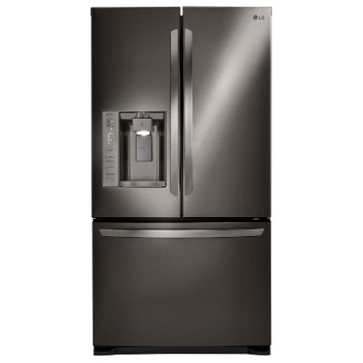 LFX25973D LG French Door Refrigerator - 36 Inch Black Stainless Steel
