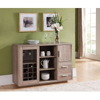 IDI-14991 Light Oak Dining Buffet - Vandalia