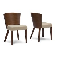 Sparrow-DC-109/661-2 Wood Dining Chair Pair - Sparrow