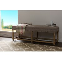 TSF-8139-Beige Country Console Bench - Nathan