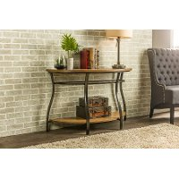 YLX-2682-ST Antique Bronze Curved Console Table - Newcastle