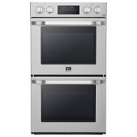 LSWD306ST LG STUDIO 30 Inch Convection Double Wall Oven - 9.4 cu. ft. Stainless Steel